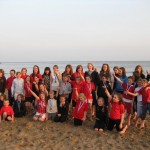 Llantwit Major SLSC Nippers and Juniors on Beach