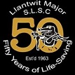 Llantwit Major Lifeguards 50 Years Logo